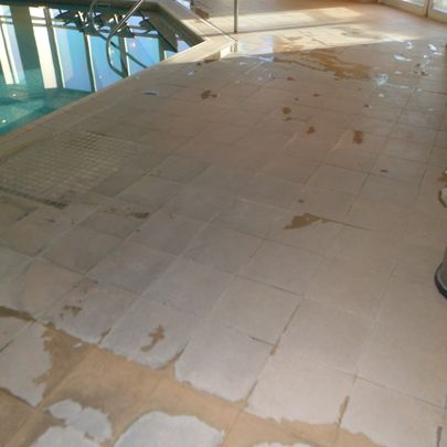 Hotel Floor Restoration After