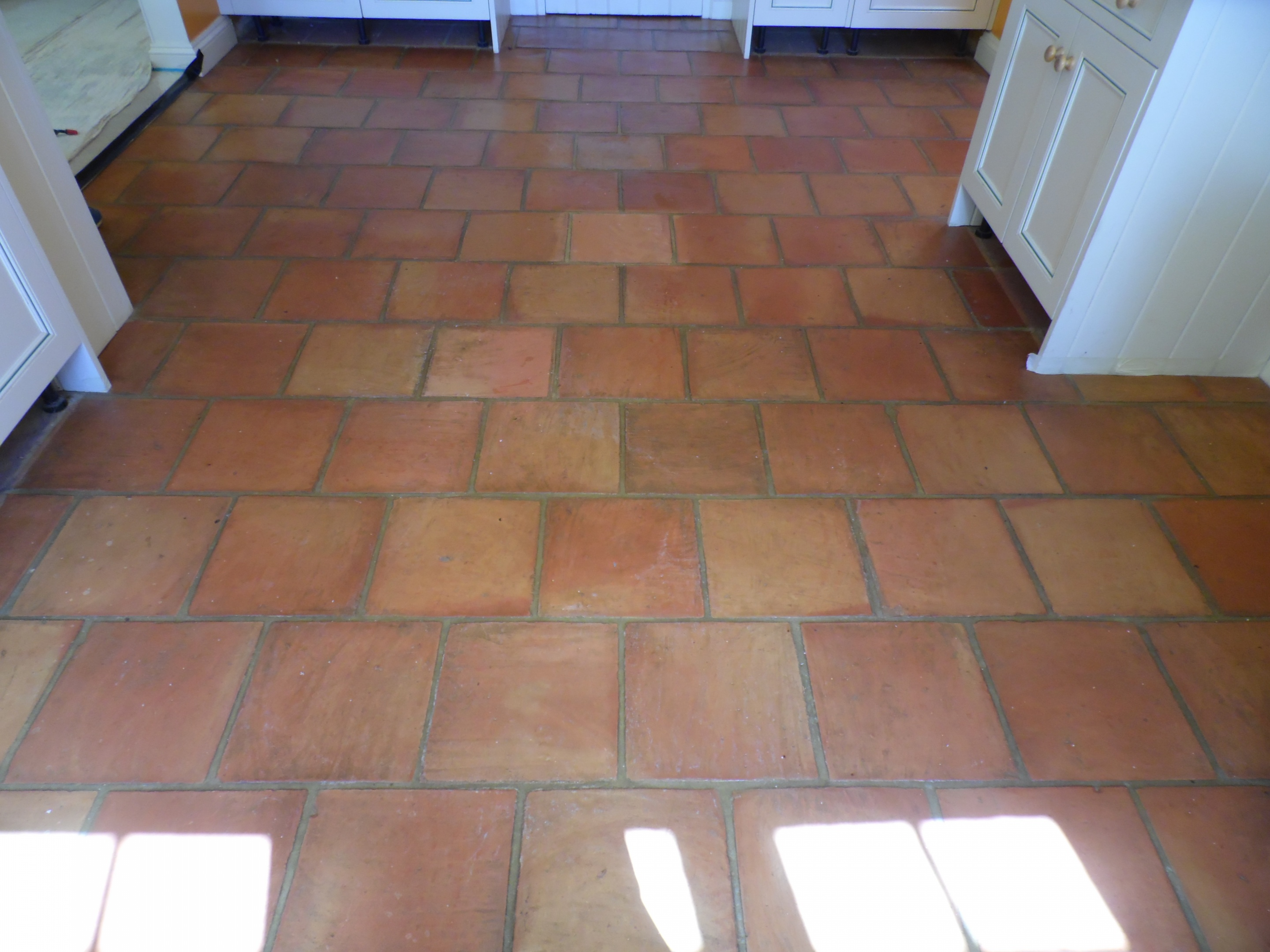 Terracotta Floor Renovation Before