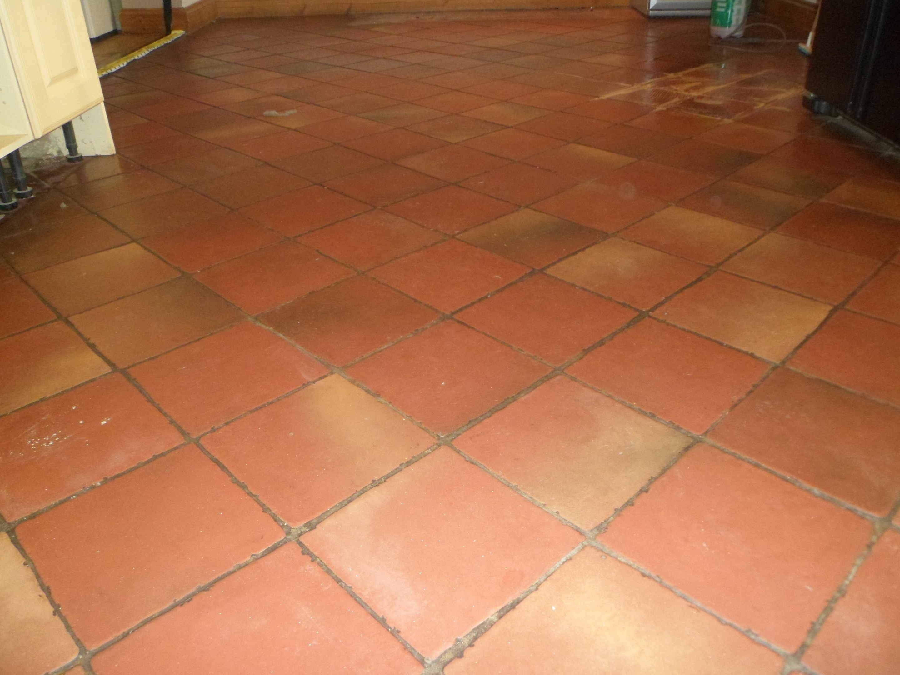Terracotta Floor Before Work