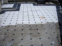 Hotel Patio Restoration Before