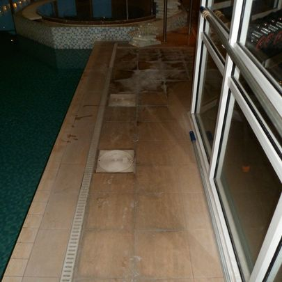 Hotel Floor Restoration Before