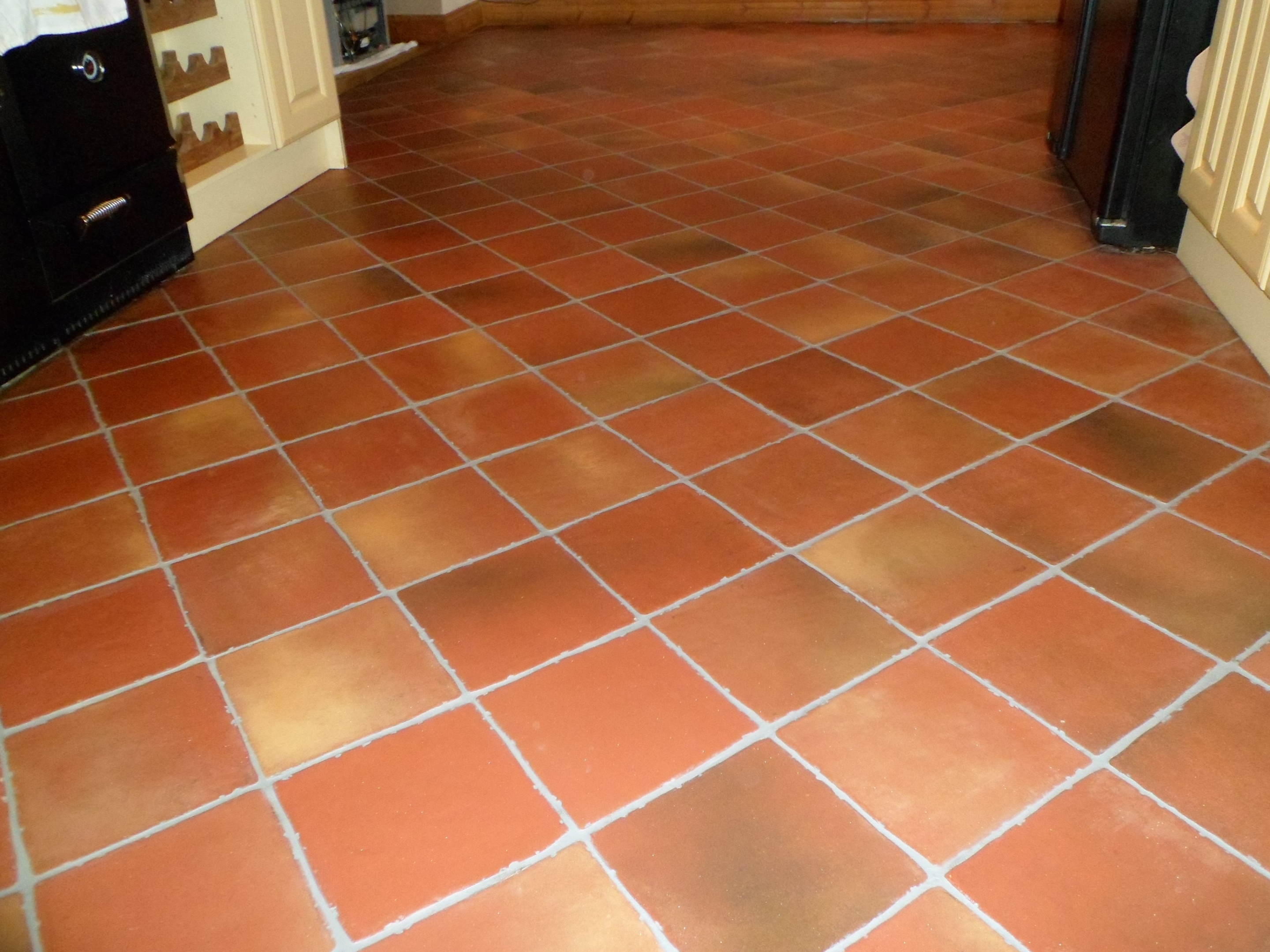 Terracotta Floor Restoration Before