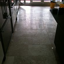 Marble Floor Restoration Before Work