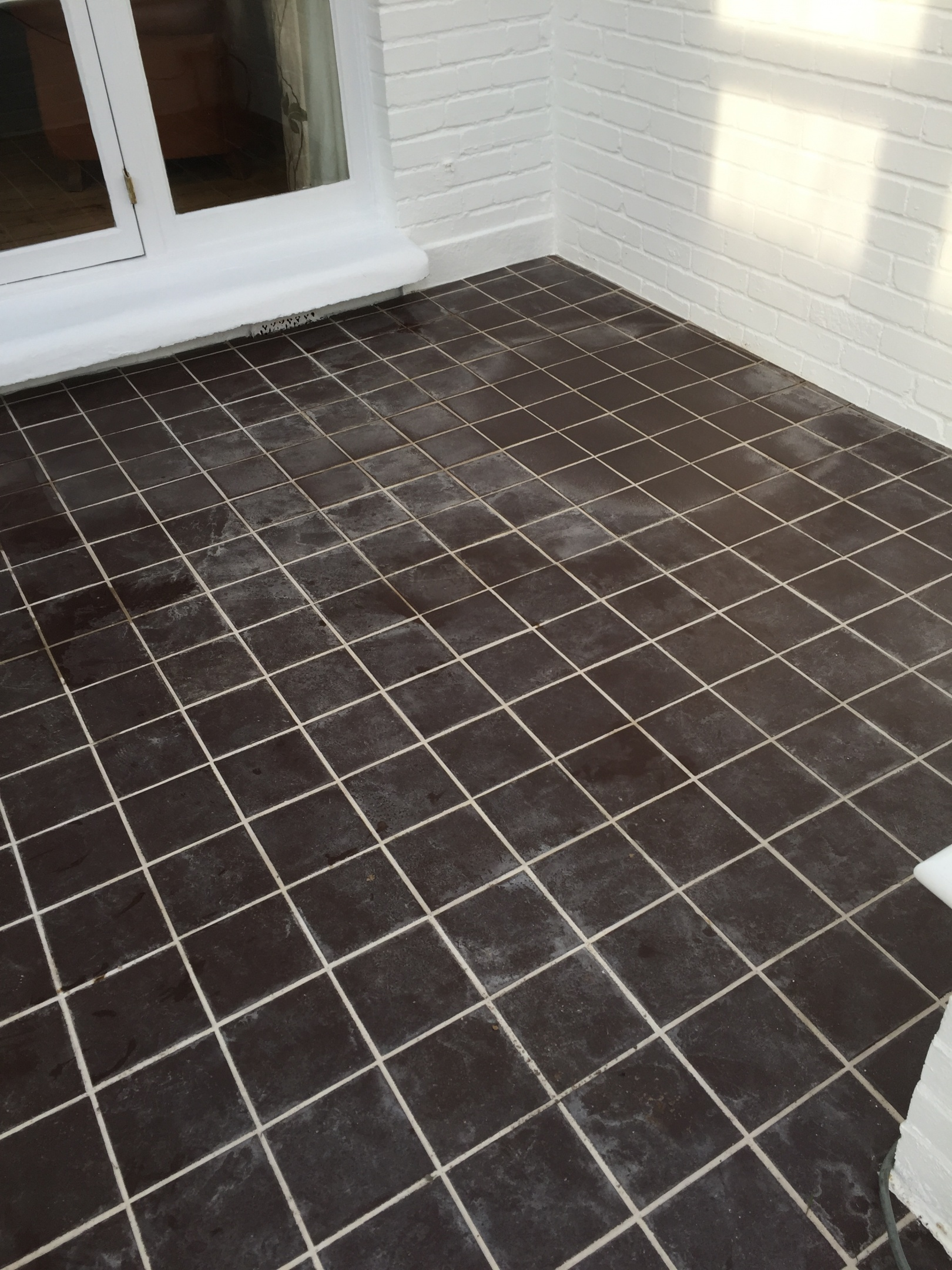Grout Renewal Before Work