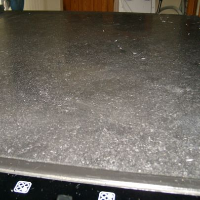 Before Restoration Of Worktop