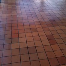 Terracotta Floor Cleaning After