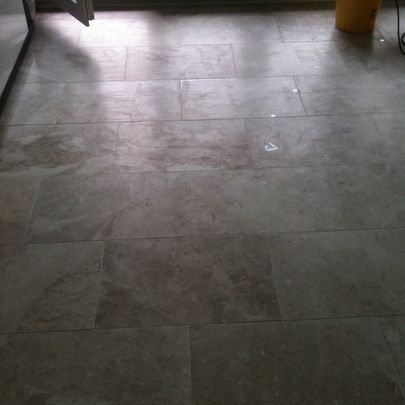 Polished Marble Cleanign After